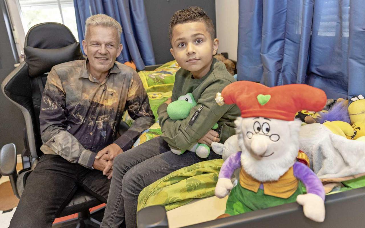 """Cyril Widdershoven wil graag dat zijn zoon Aidan (10) een coronaprik krijgt. """"Al sinds zijn geboorte heeft hij prikken gehad. Na goedkeuring voelt het als een afgewogen risico."""""""
