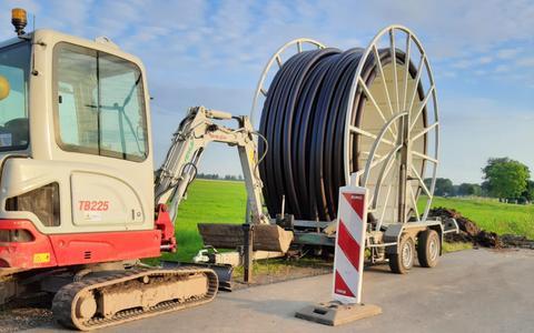 Werkzaamheden in de buurt van Windpark Delfzijl Zuid Uitbreiding zorgen voor onrust bij omwonenden. 'Blijkbaar móét dat windpark er komen'