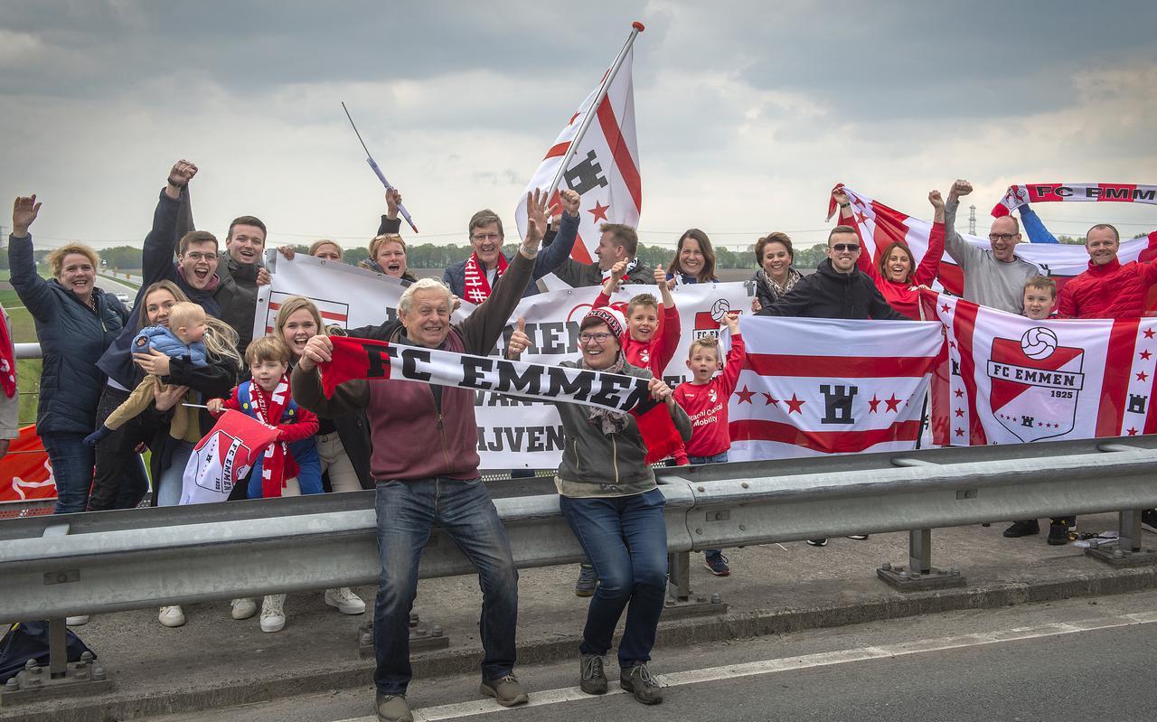 Vorig seizoen waren ze al met veel, maar de supportersclub van FC Emmen groeit door