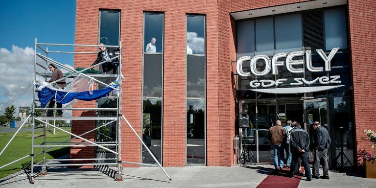 Het in 2012 geopende nieuwe pand van Cofely in Delfzijl. FOTO ARCHIEF JAN ZEEMAN