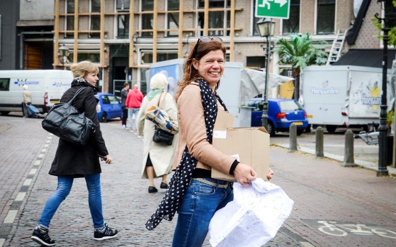 Coördinator Tamara Boor van Popronde Groningen.