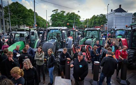 Demonstrerende boeren kunnen blijven rekenen op steun maar slechts weinig mensen trekken zich woensdag iets aan van de actie