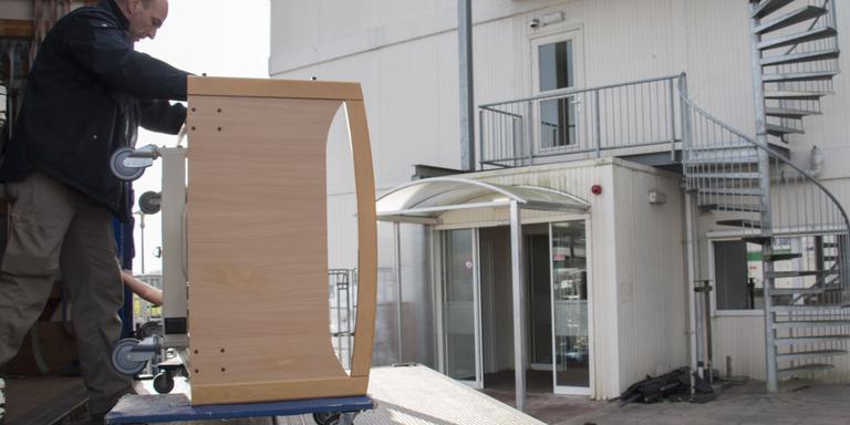 Vijftig ouderen verhuizen deze week uit Borgerhof. Foto DvhN
