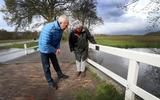 En zo werd de brug tussen Schipborg en Zeegse toch ineens vernoemd naar Johannes Hovenkamp. 'Het doet me toch wel wat, voor mij is hij een verzetsheld'