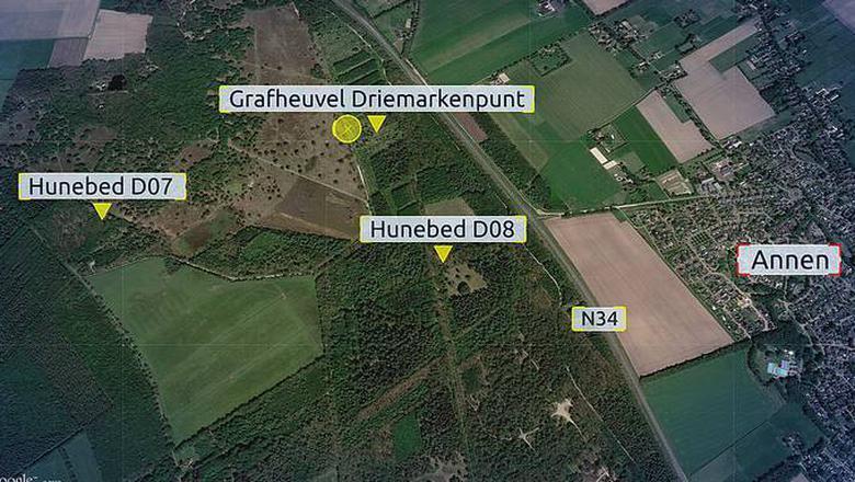 Wandelaarster is verkracht in natuurgebied bij Schipborg.