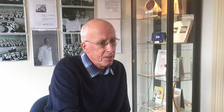 Wim Wolthuis schreef het boek '40 jaar spanning in Meppel'. Foto: Jon van Schilt