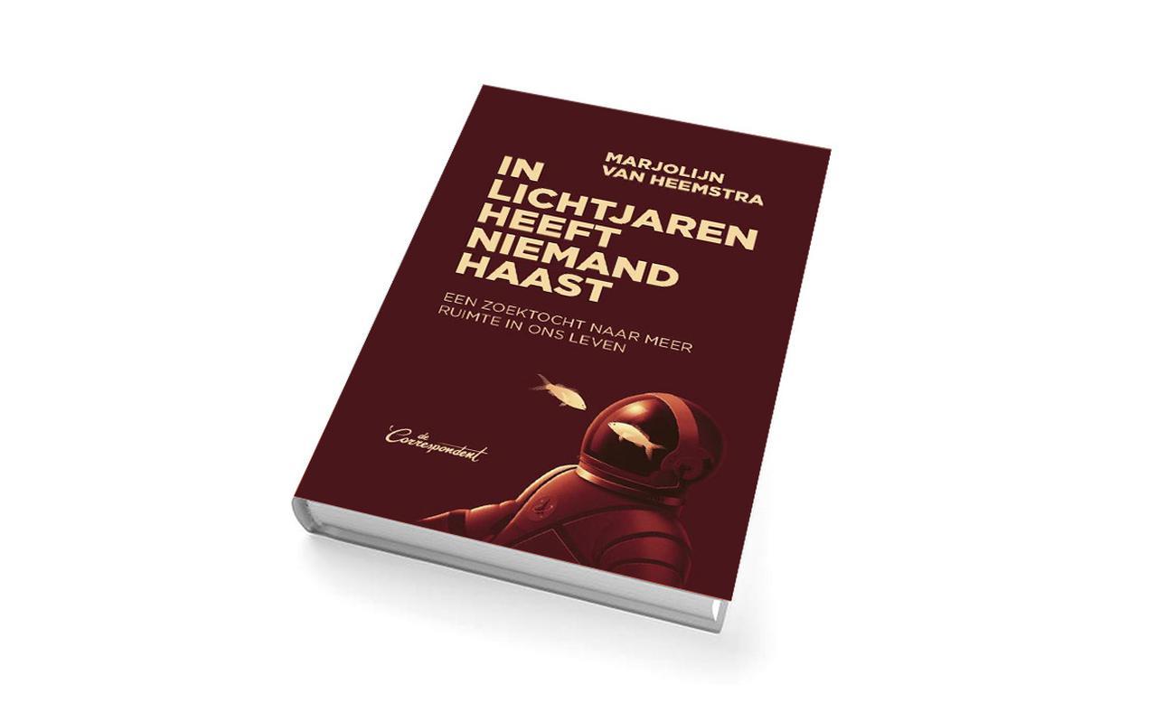 Het nieuwe boek van Marjolijn van Heemstra neemt je mee het heelal in.