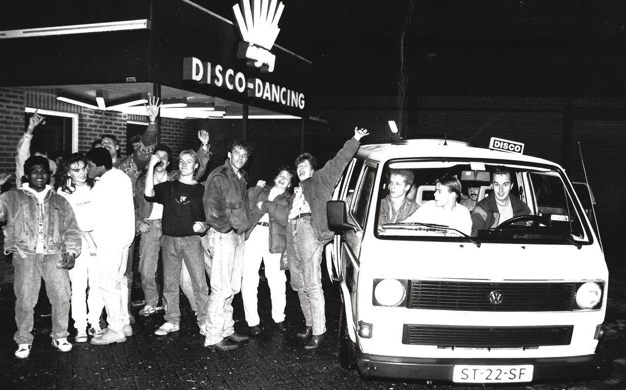 Discobus bij Pruim Zevenhuizen, 1991.