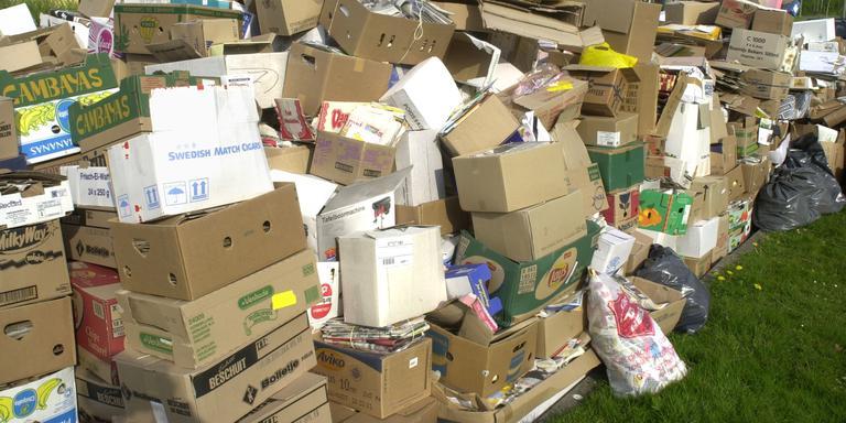 Waste Paper Trade (WPT) houdt zich bezig met de in- en verkoop van oudpapier. Foto Archief DvhN