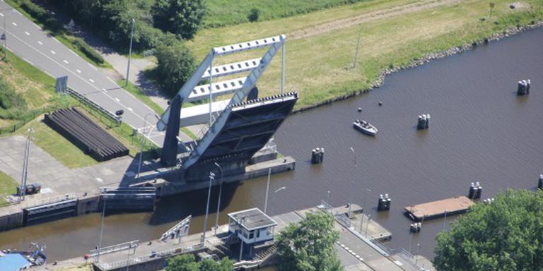 Deze brug is volgende week gestremd voor wegverkeer. Foto: RWS