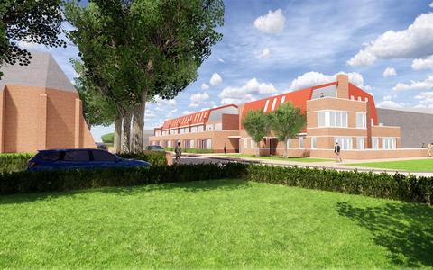 Bouw 34 appartementen in dorpshart Eelde zet door, ondanks tegenstand en petitie