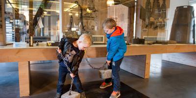 Kinderen in het Gevangenismuseum