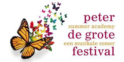 Het logo van het Peter de Grote festival.