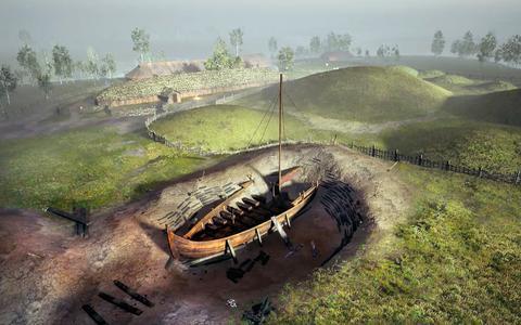 In Beeld: Graven naar een verborgen Vikinggraf