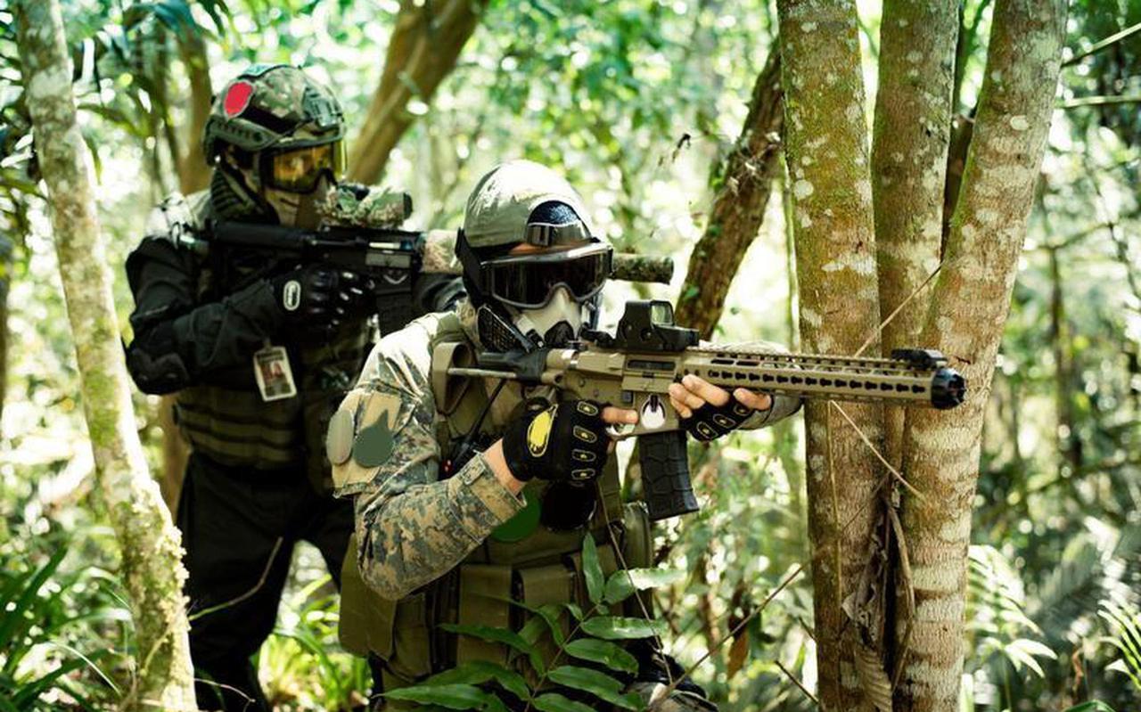 Ter illustratie: Airsoftwapens zijn niet van echte wapens te onderscheiden. Foto: Shutterstock.