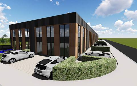Zo komt het nieuwe gebouw eruit te zien.