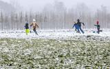 Eén keer sneeuw en direct daarna 10 graden boven nul. Is het weer gedaan met de de winterpret?
