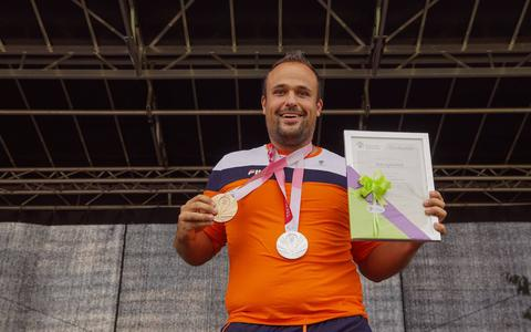 Tom Egberink heeft de Zilveren Ster van Coevorden gekregen.
