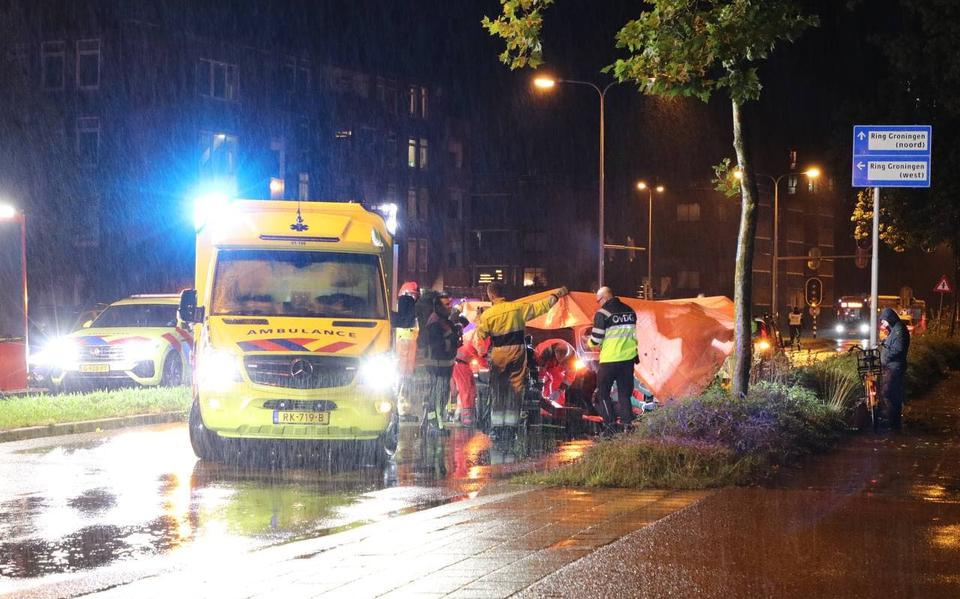 Fietser aangereden op Zonnelaan in Groningen.