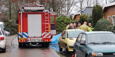 De brandweer had de brand snel onder controle. Foto: Van Oost Media