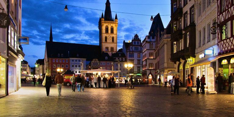 Het centrale plein van Trier. FOTO PIXABAY