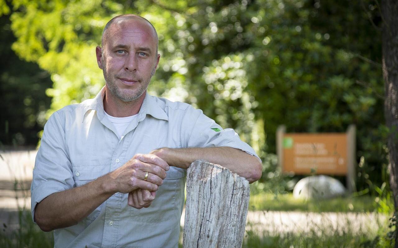 Joris Blankena: 'De parkeerplaatsen staan vol, maar het lost zich zo op in de natuurgebieden.'