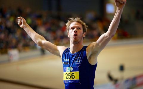 Moordende concurrentie voor Thijmen Kupers uit Groningen op de 800 meter bij NK indoor: zeven atleten liepen al de EK-limiet