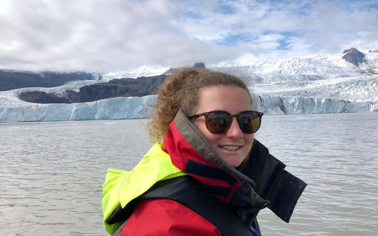 Studente Daisy Blijdorp reist zaterdag voor de KEI-week van IJsland naar Groningen.