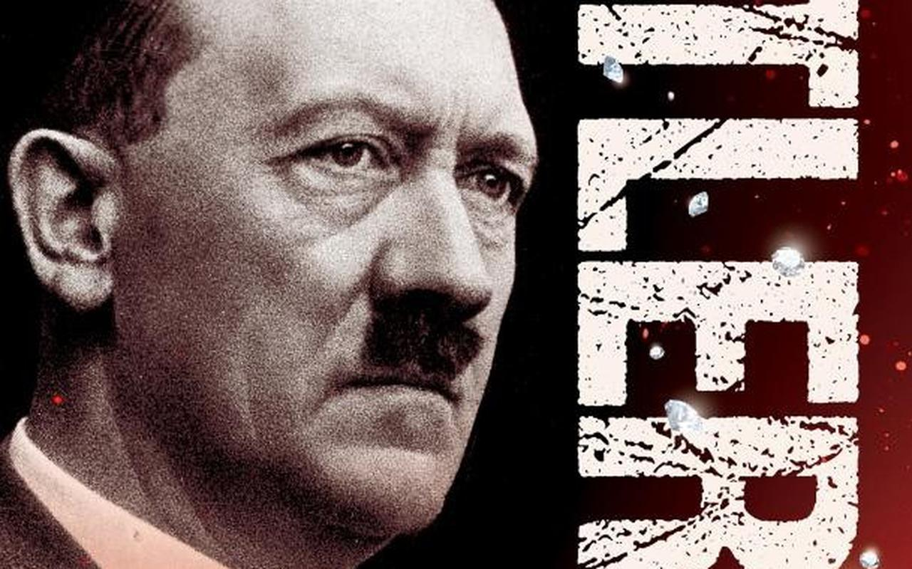 De eerste, inmiddels vernietigde druk van het boek Hitlers diamanten.