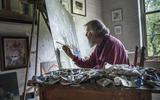 Henk Helmantel maakte ver over de duizend schilderijen en exposeert nu in Drents Museum: 'Een Godgegeven talent'