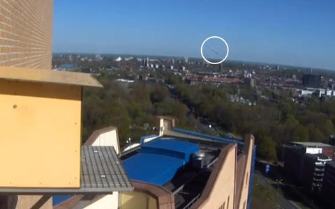 Zeldzame daglicht-meteoor boven Groningen blijkt (hoogstwaarschijnlijk) toch gewoon een slechtvalk