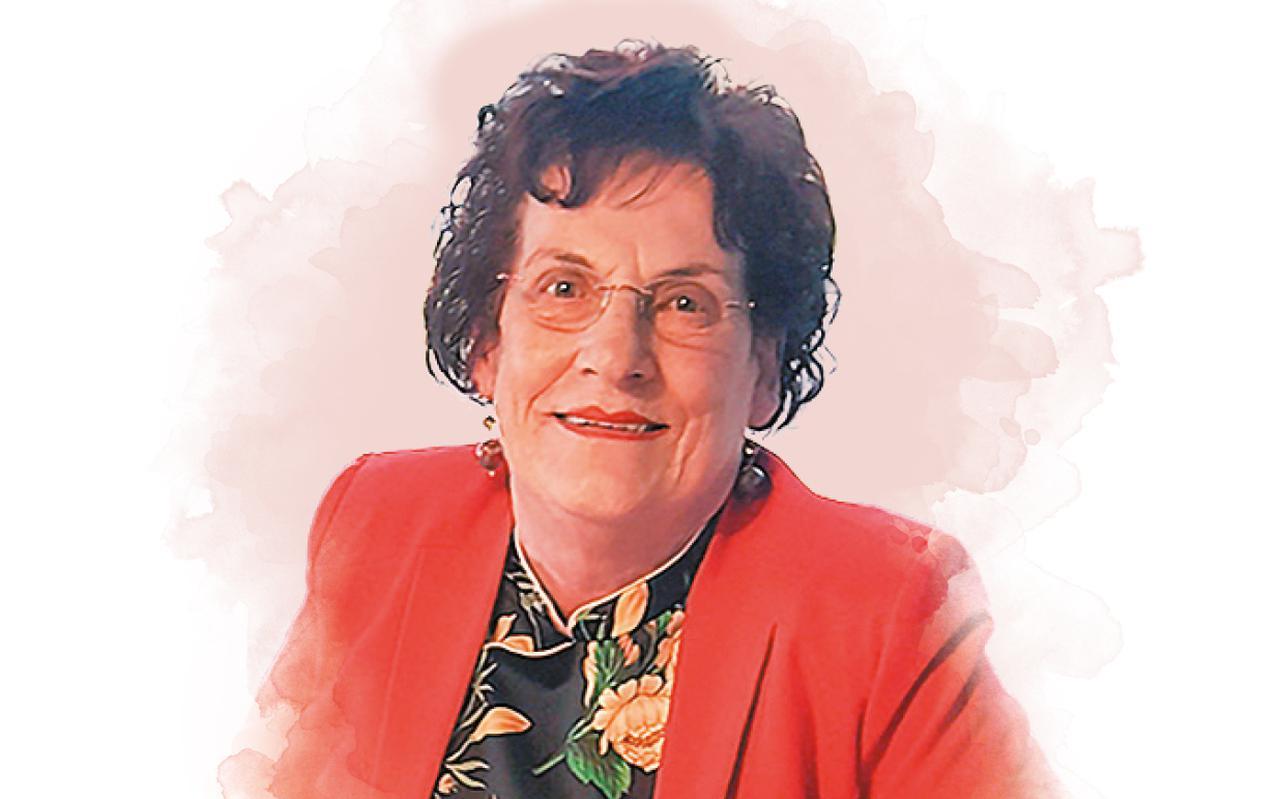 Gré Lubbers-Cramer hield van felle kleuren en droeg altijd hoge hakken.