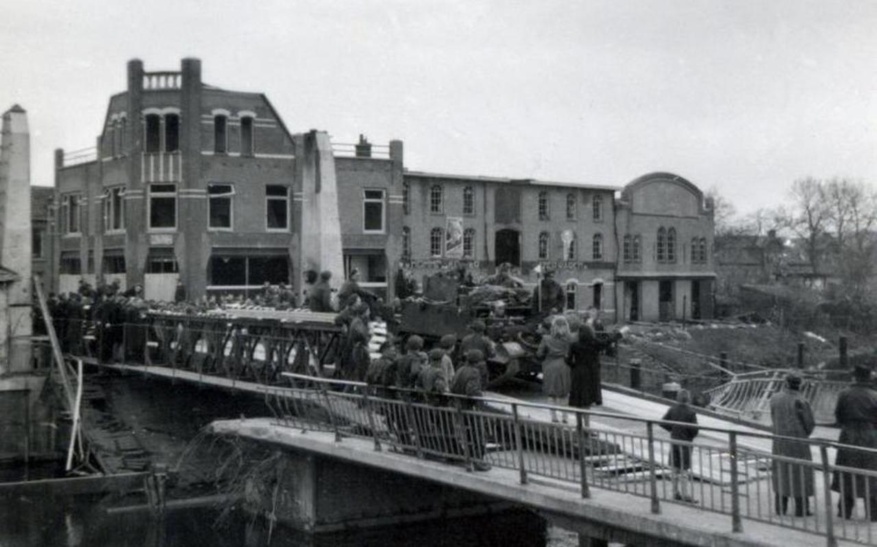 Bevrijding van Coevorden. Archief: Historische Vereniging Coevorden