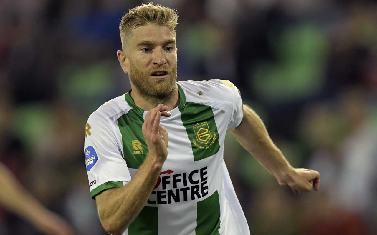 Michael de Leeuw werkte keihard tegen FC Utrecht, maar staat nog wel droog na twee duels.