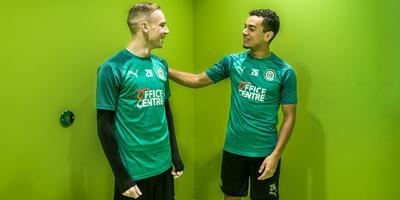 Romano Postema (links) en Daniël van Kaam gaan een mooie toekomst tegemoet.