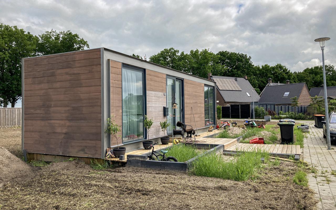 Tiny houses zoals hier in Dalerpeel roepen soms weerstand op, is het niet bij de overheid, dan wel bij omwonenden.