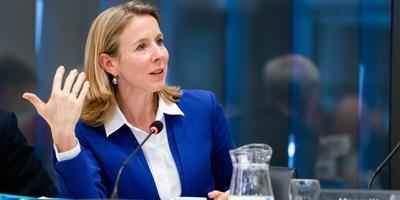 Minister Stientje van Veldhoven van Milieu en Wonen.