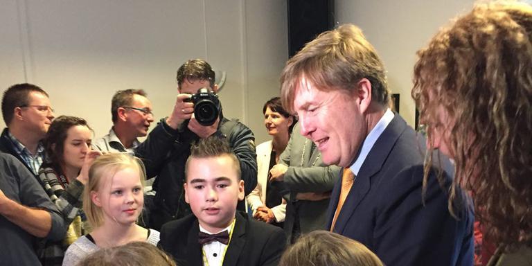 Koning Willem Alexander bezoekt Elim