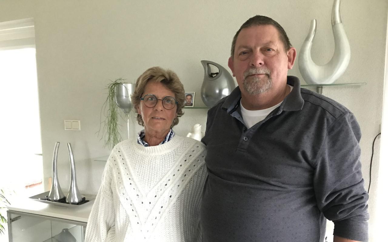 Ingrid en Wietze Meinema .