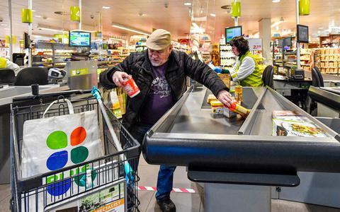Hamsteren terug te zien in cijfers: supermarkten hebben topverkoop in de winkels