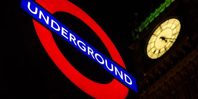 De Londense Underground.