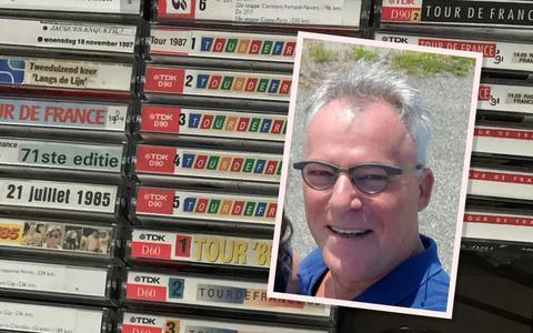 Het grootste Radio Tour de France-archief komt uit Emmen (en is dagelijks te horen op Radio 1)