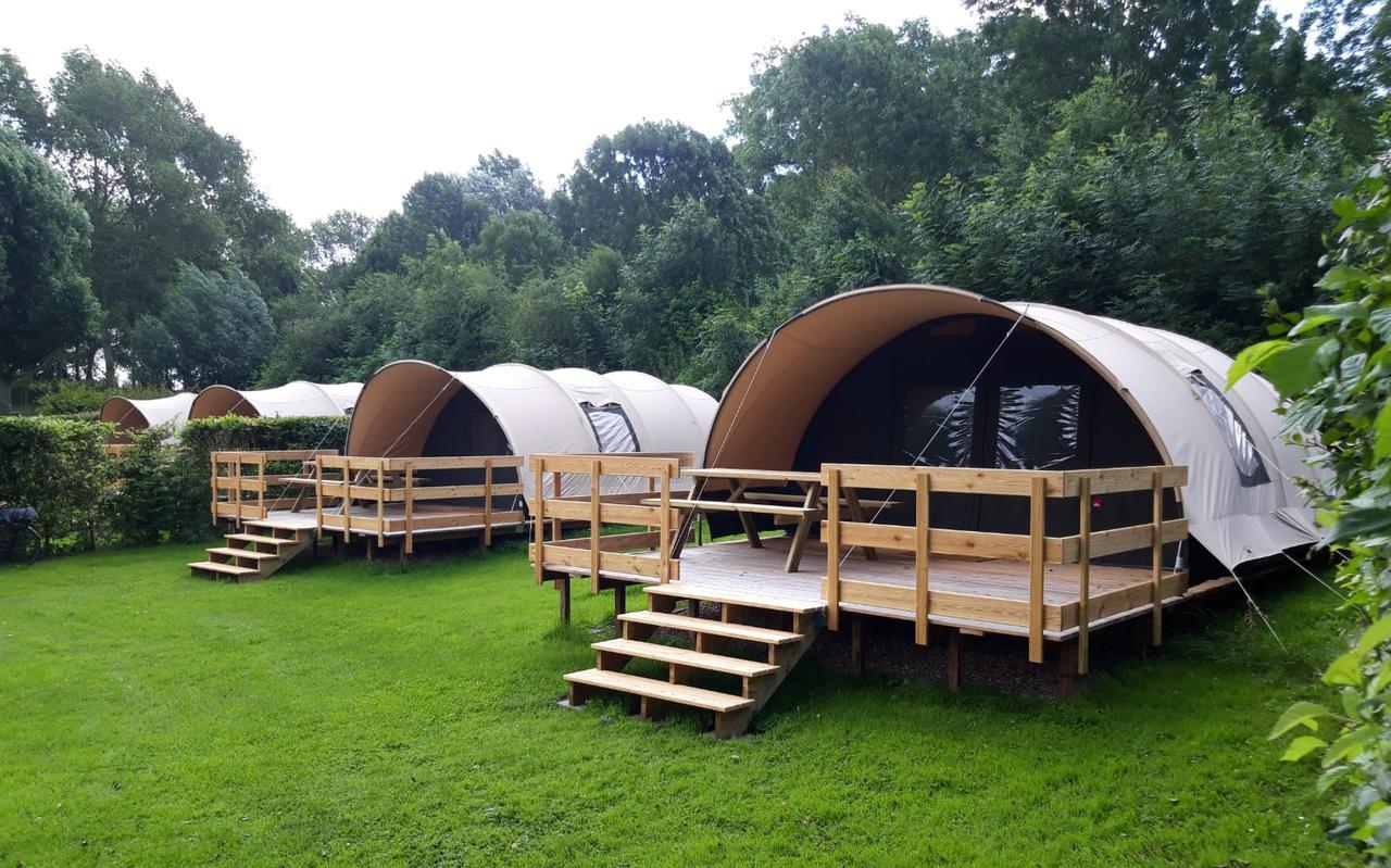 Zakelijke tenten van De Waard.