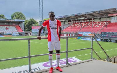 Mitch Apau, de nieuwe aanwinst van FC Emmen.