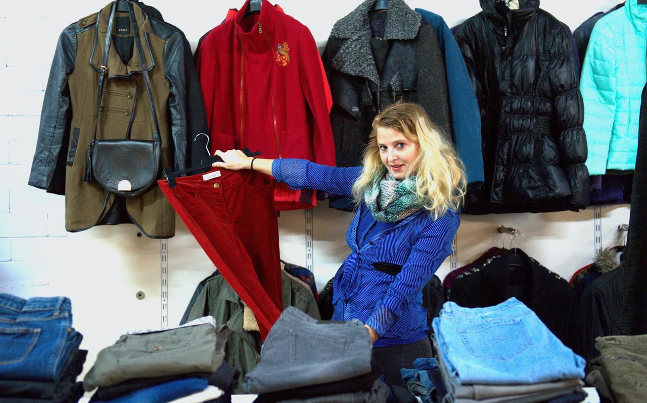 Beeld van Maxima, kledingwinkel zonder kassa voor de minima, in het Westerkwartier.