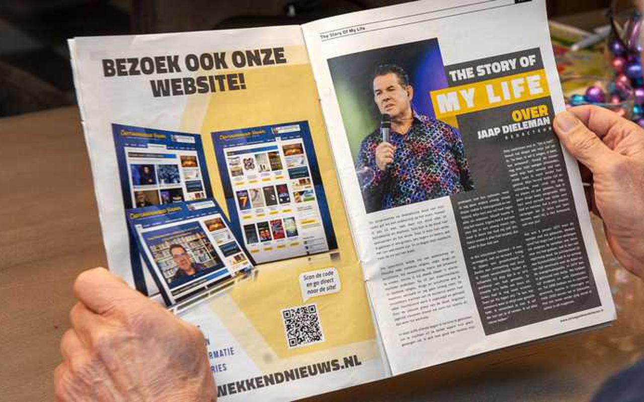 Jaap Dieleman is bij zijn eigen kerk weg, maar verspreidt zijn ideeën via drukwerk.