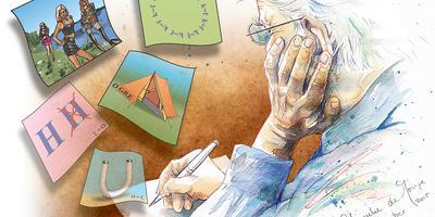 Dr. Denker. Illustratie: Janneke de Jonge