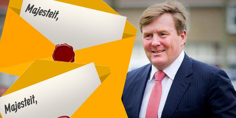 Oproep: schrijf een brief aan de koning (en lees wat anderen hem