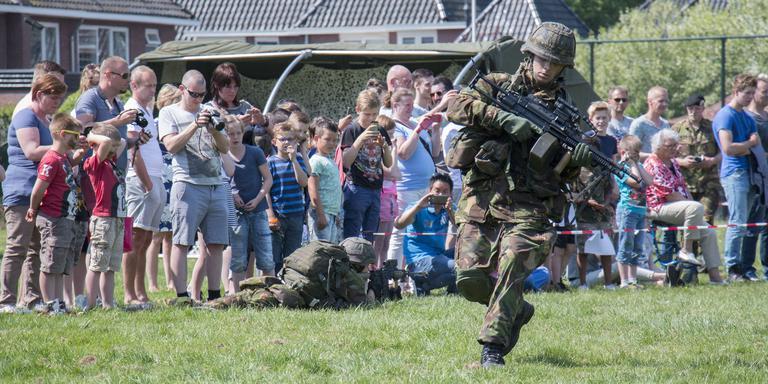 Landmachtdagen in Meppel. FOTO DVHN/FRANK JEURING