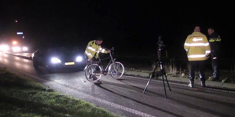 Aanrijding met de fiets bij Niezijl. Foto: Persbureau Meter